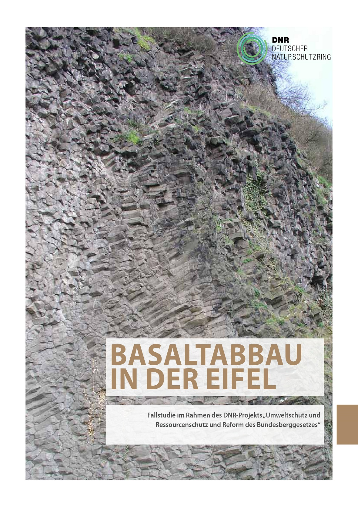 Cover Basaltabbau in der Eifel