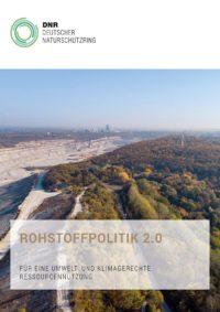 Cover DNR Rohstoffpolitik 2.0