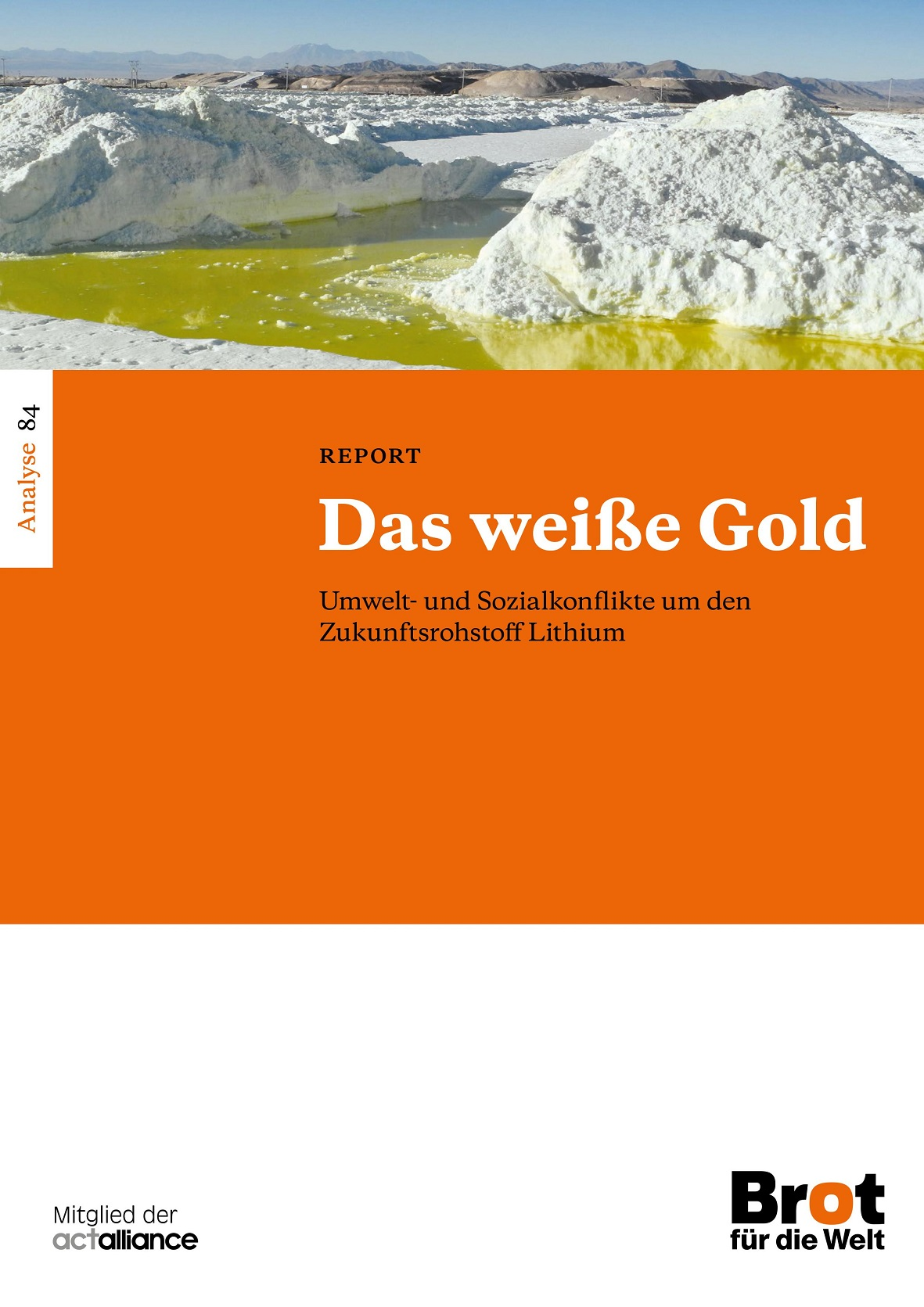 Cover Das weiße Gold