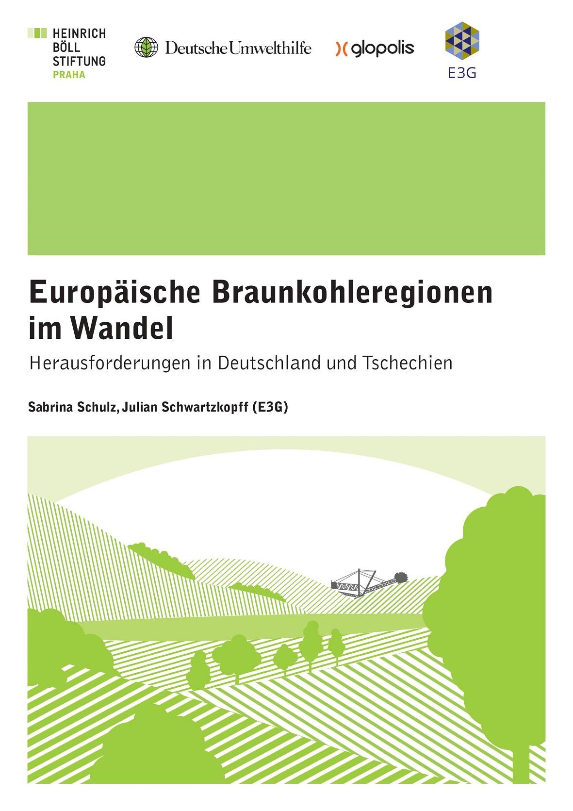 Cover Europäische Braunkohleregionen im Wandel