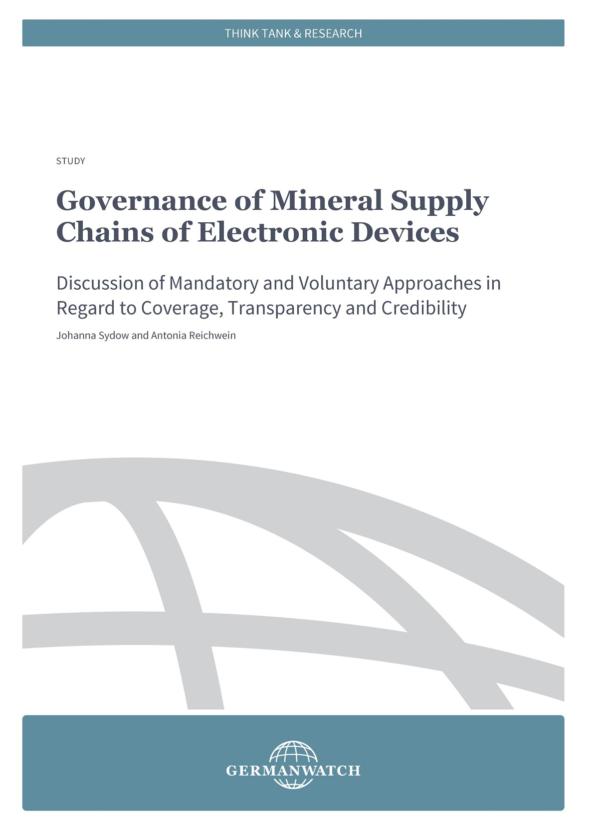Cover Governance of Mineral Supply Chains of Electronic Devices