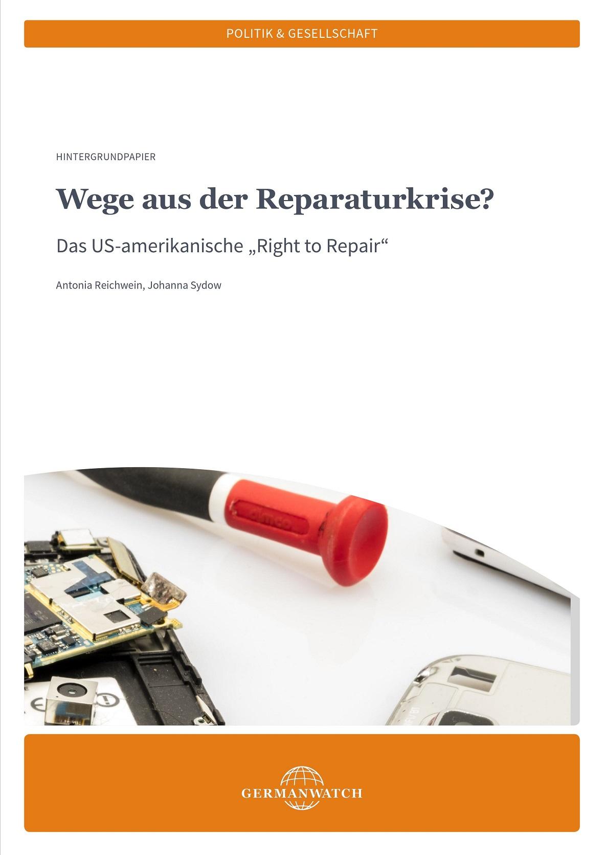 Cover Wege aus der Reparaturkrise