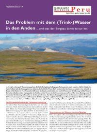 Das Problem mit dem Wasser in den Anden